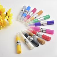 12 x 3D Nail Art Pens Fashion UV Gel Acrylic Colour Paint Polish Create Manicure