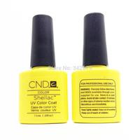 6PCS(You Choose 4Color+1 Foundation Base Coat+1 Top Coat) Soak Off LED & UV Gel Nal Polish Lacquer CND Shellac Nail Polish Set