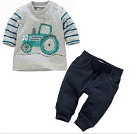 Boys Suit Cotton Baby Brand Sports Sets  Cartoon Clothing Sets Children/ Kids Long Sleeve T-shirt+Pant Outfits Autumn Spring