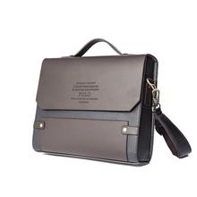 Man Briefcase Fashion 2014 Hot Sale Men Messenger Bags Leather Bussiness Shoulder Bag(China (Mainland))