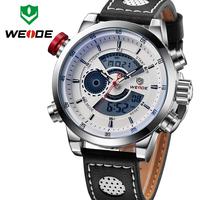 Top!WEIDE Men's Sports Watch Quartz Back Light Wristwatch Military Fashion Casual Dive Watches for Men Dress Relogio Masculino