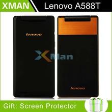 Original lenovo Flip Phone A588T MTK6582 Quad Core Smartphone 512MB RAM 4GB ROM Dual Sim 4.0 Inch 5MP camera Multi languages D(China (Mainland))