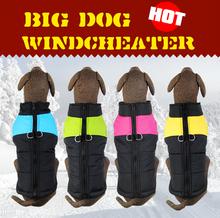 Freeshipping Pet Clothing Big Dog Vest Large Dog Clothes Winter clothing  Winter Vest Soft Warming(China (Mainland))
