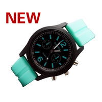 2014 New !Hot! Leisure fashion candy color unisex watch, quartz watch
