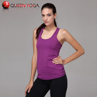 Hot Sale Women's Sports Cropped Tank Tops.Yoga Racerback Sleeveless Sexy Camis/Vest for Lady