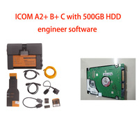Best Quality for bmw icom a2 with software V2014.08 with Engineering Mode Multi-language 3in1 auto diagnostic tool