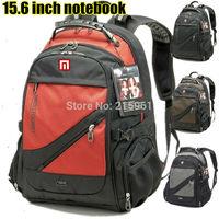 Brand Swiss,SwissLander mochila 15.6 inch laptop backpack computer bag notebook backpack Computer backpacks scchool laptop bag
