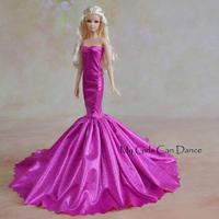 Fashion Purple Skirt For Boneca Barbie Doll
