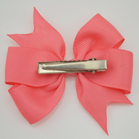3542014-DIY  grosgrain ribbon bows WITH clip,Baby Girl Bows hair pin,Baby Boutique bows hair accessories 16pcs/lot