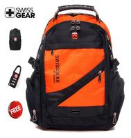 Free shipping SwissGear  multifunctional  backpack SA1418 15.6 inch laptop bag