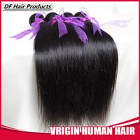 Queen Weave Beauty Peruvian Virgin Hair 4/3pcs lot Straight 100g/pc Cheap Human Hair Natural Black Peruvian Hair Weaves