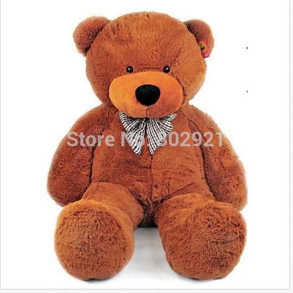 100cm Giant big cute Teddy bear plush huge soft with padding plush teddy bear gift for chirstmas(China (Mainland))