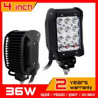 """4"""" 36w LED Work Light Bar Adjustable Bracket Truck Tractor ATV Off-road Fog Light  12v 24v LED Worklights Seckill 27w 18w"""