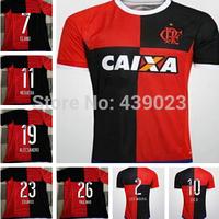 Flamengo jerseys 2014/15 Flamengo home away soccer football jerseys, top thai qualitysoccer uniforms embroidered logo