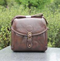 New PU DSLR Lady/Women Camera Bag Vintage Waterproof Messenger Shoulder Bag Photo Bag For Canon 600D Nikon D3100 D5100 YXFDZ18
