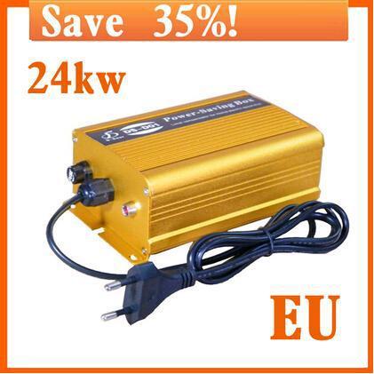 2015 hot sales new Eu/ Au/ Uk/ US Plug Electricity Saving Box Power Save Electric Energy Resources Up To 35% Use Easy 110v-250v(China (Mainland))