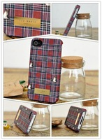 New 2014 Wholesale Hot UK Fashion Brand TED Phone Cases TB For iPhone 4 4s 5 5s London Baker Back Cover Capa Celular