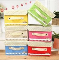 Free Shipping- Foldable Nonwoven Underwear Clothing Storage Box ,home decor, caixa organizador,acrylic makeup organizador