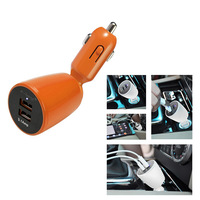 2014 New Arrival E-BEST High Quality Dual USB Car Charger For iPad Samsung Tablet PC Mobile Phone GPS  Car DVR