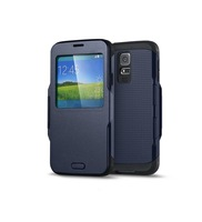 Best Gift for Christmas Cool Flip Window View  Case For Samsung Galaxy S5 Cover Fashion Retro Bags FJX 9600