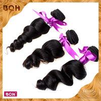 "4pcs a lot 10""-30"" 5A free shipping High quailty brizilian hair extension natural black color brazilian virgin hair body wave"