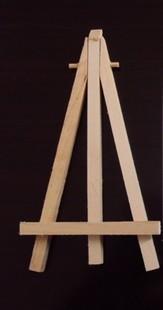Деревянный мольберт, стенд, 8 см х 15 см, горячая распродажа, 10 шт. партия, 312586-H