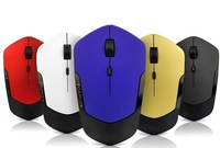 100PCS 2014 newest fashionable Computer wireless usb mouse  mice USB 2.4G receiver super slim USB mouse wholesales Esun Evang