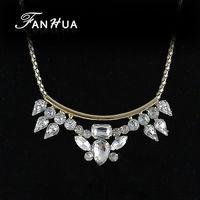 Created Diamond Jewelry Luxury Design Rhinestone Necklace for Love for Wedding Women Accessories Wholesale