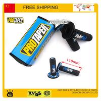 50cc-250cc Dirt pit monkey bike blue protaper pro taper pad handlebar grips accessories free shipping