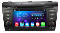 Pure android 4.2.2 Car DVD radio audio video player for Mazda 3 2004 2005 2006 2009 / dual Core CPU:1G RAM:1G WIFI 3G  Free  map