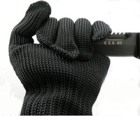 Stainless Steel Wire wear-resistant safety gloves thickening strengthen cut-resistant gloves field knife working gloves safety