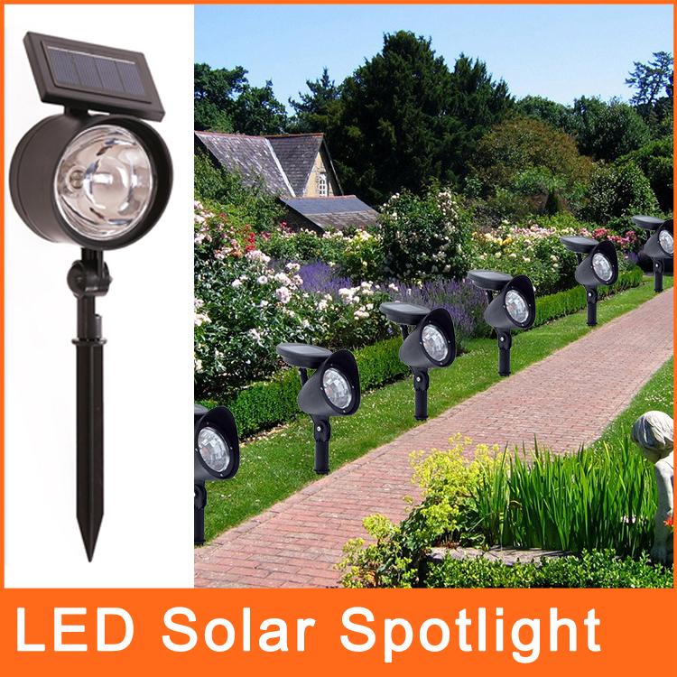 iluminacao jardim solar:Solar-LED-Spotlight-iluminação-ao-ar-livre-para-jardim-gramado