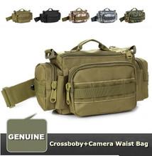 2014 New Waterproof camera Case bag shoulder bag,Large DSLR SLR Ultra-light Hunting Range Heavy Duty Carrier free shipping(China (Mainland))