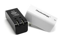 Dual usb зарядное устройство мини-мобильных зарядное устройство для iphone 5s, samsung galaxy s2 s3 s4 s5 htc huawei, цвет черный/белый