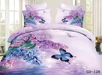 Super King 7PCS per  SET 3D King Size Duvet Covercomforter Cover Flalt SheetFitted Sheet Pillowe cases