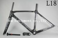 2014 LOOK 695 L18 100% carbon fiber road bike frame handlebar carbon wheelset T1000 BB68 Seatpost clamp saddle bottle cage