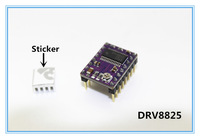 50PCS/Lot Free shipping 3D Printer Stepstick Drv8825 Stepper Motor Driver Reprap 4 PCB Board replace A4988