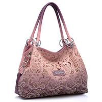 NEW 2014 Hollow out Women Messenger Bags Shoulder Bags Women Leather Handbags DESIGUAL Bag Crossbody Bag Printing Women Handbag