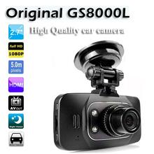 "Full HD 1080P 2.7"" car camera 100% original gs8000l car dvrs gs8000 car dvr recorder video registrator(China (Mainland))"