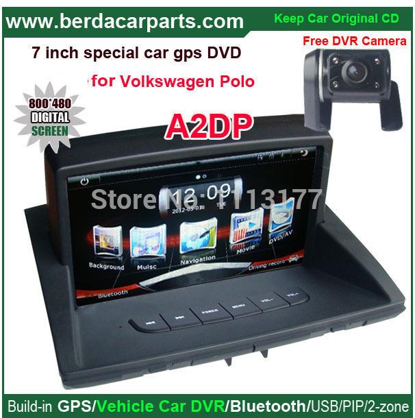 Car media player for VW Polo car radio for VW Polo,original car upgrade,keep original Radio(CD) all functions(China (Mainland))