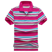 Top quality  men's short sleeve striped casual polo shirt  US  size  S,M,L,XL,XXL   #822