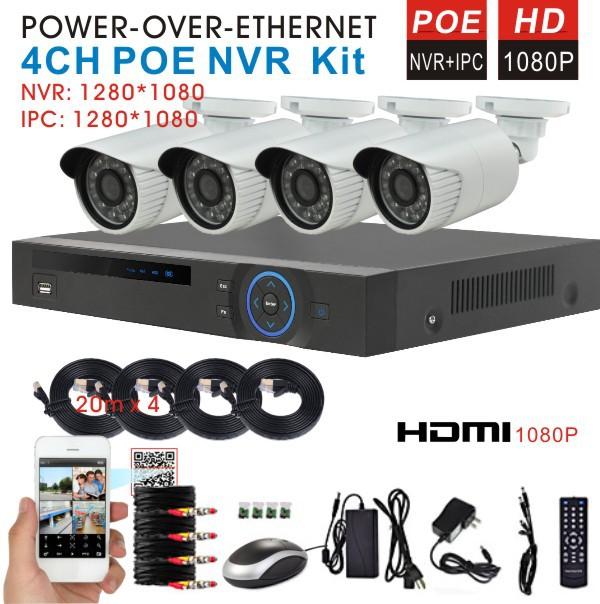Система видеонаблюдения HIVISION 4/1080p NVR 2.0MP ip h.264 1080 p POE NVR HDMI 1080 p NVR HI-NVR1080PVA система видеонаблюдения anran 3 hdd 8ch nvr 2 wifi ip 1080p hd ar ap2ga ip wifi nvr