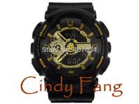 2104 HOT G sports wristwatch relogio reloj de pulsera, GMT dual display military army watch, led digital watch kids gift