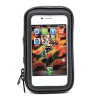 Waterproof 360 Motorcycle Bike bicycle Cycling GPS Case/Bag  mount Holder for GPS waterproof bag for iphone 5 5s