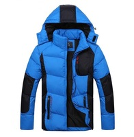 2014 new mens fashion slim jackets cotton wadded thicken winter sports outwear man plus size warm clothing 2xl 3xl 4xl