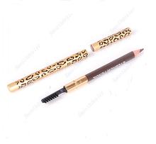 1PC Perfect Waterproof Longlasting Eyeliner Eyebrow Eye Brow Pencil Brush Makeup