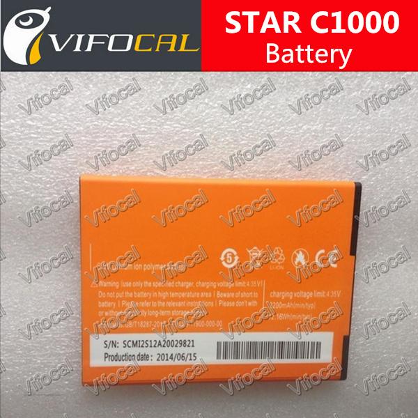 100% Original 3200Mah Replacement Star C1000 Battery Backup Bateria Batterij + Free Shipping + Tracking Number + In Stock