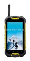 Snopow m8 g shock original water proof phone MTK6589 IP68 rugged Android 4.2 Dustproof Shockproof Smartphone walkie talkie