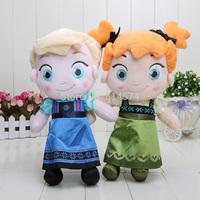 2pcs/lot 30cm New childhood Plush Elsa Anna baby plush Soft Toys Baby Toy Girls style can choose