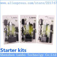 eGo MT3 E Cigarette MT3 Starter Kits Blister E Cigs 2.4ml MT3 Atomizer eGo-T Battery 650mah 900mah 1100mah 1300mah Free Epacket